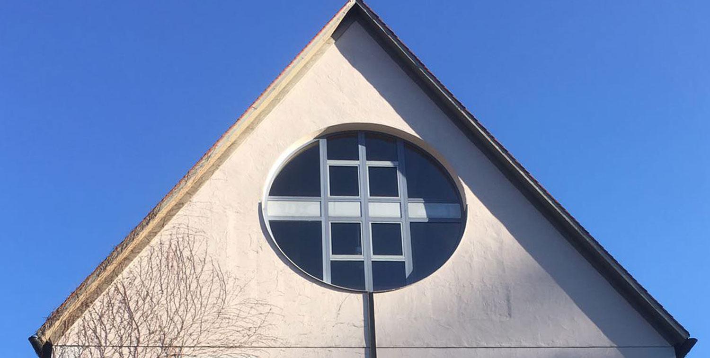 Rundfenster Holz/Alu